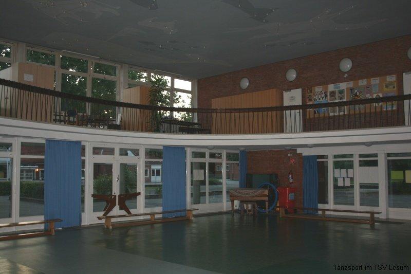 Halle der Grundschule Landskronastraße